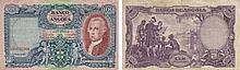 Paper Money - Angola 100 Angolares 1951