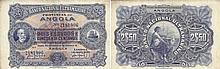 Paper Money - Angola 2$50 1921