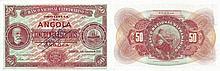 Paper Money - Angola 50$00 1921 SPECIMEN