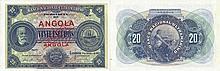 Paper Money - Angola 20$00 1921 SPECIMEN