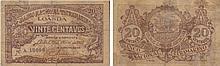 Paper Money - Angola 20 Centavos 1918