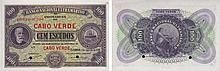 Paper Money - Cape Verde 100$00 1941 SPECIMEN