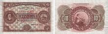 Paper Money - Cape Verde 10$00 1921  SPECIMEN