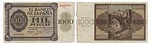 Paper Money - Spain 1000 Pesetas 1936
