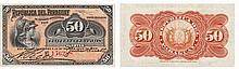 Paper Money - Paraguay 50 Centavos 1903