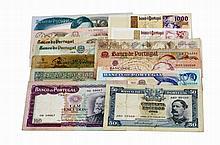 Paper Money - Portugal - 14 expl. 5$00, 20$00, 50$00, 100$00, 500$00, 1000$00 1920-2000
