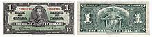 Paper Money - Canada 1 Dollar 1937