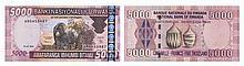 Paper Money - Ruanda 5000 Francs 2004