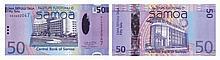 Paper Money - Samoa 50 Tala ND (2008)