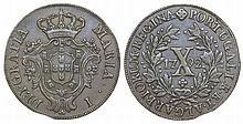 Portugal - D. Maria I - X Réis 1792