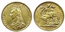 Great Britain - Sovereign 1889