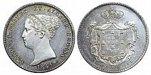 Portugal - D. Maria II - 1000 Reis 1845