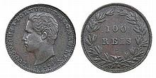 Portugal - D. Luis I - 100 Reis 1877, Prova