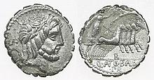 Roman Republic  - Denarius serratus nd, Q. Antonius Balbus