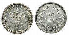 Portugal - D. Luis I - 50 Reis 1877