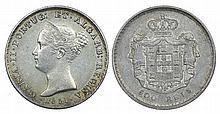 Portugal - D. Maria II - 500 Reis 1851