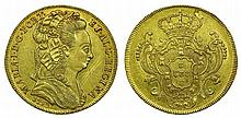 Portugal - D. Maria I - 6400 Reis 1793