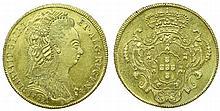 Brazil - D. Maria I - 6400 Reis 1792 B
