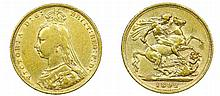 Great Britain - Sovereign 1892