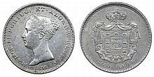 Portugal - D. Maria II - 500 Réis 1838, RARE