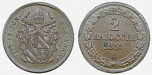 Papal States - 2 Baiocchi 1851 R