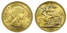 Great Britain - Sovereign 1958