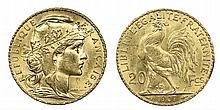 France - 20 Francs 1907