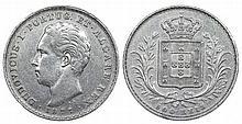 Portugal - D. Luis I - 500 Reis 1877