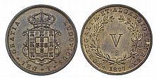 Portugal - D. Luis I - V Reis 1877, Prova