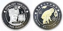 Togo - 1000 Francs 2004
