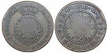 Angola - D. Joao Prince Regent - 2 Macutas 1815