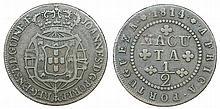 Angola - D. Joao Prince Regent - 1/2 Macuta 1814