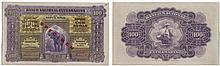 Paper Money - Portuguese India - Nova Goa 100 Rupias 1924 SPECIMEN