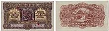 Paper Money - Portuguese India - Nova Goa 2 1/2 Rupias 1924 SPECIMEN