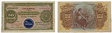 Paper money - Angola (LOANDA) 50 Centavos 1914