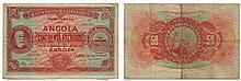 Paper money - Angola 50$00 1921, RARE