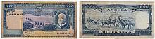 Paper Money - Angola 1000$00 1970 CAPICUA