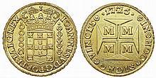 Brazil - D. João V - Dobrão 1725 M