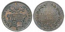 Papal States - Baiocco 1840 R