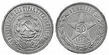 Russia - 50 Kopeks 1922