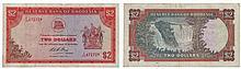 Paper money - Rhodesia 2 Dollars 1975