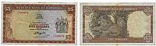 Paper money - Rhodesia 5 Dollars 1978