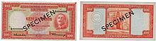 Paper Money - Mozambique 100$00 1958 SPECIMEN