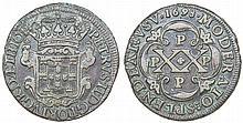 Angola - D. Pedro II - XX Reis 1698 PPPP