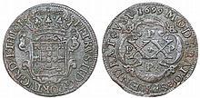 Angola - D. Pedro II - XX Reis 1699 PPPP