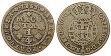 Angola - D. Jose I - 1/4 Macuta 1763