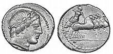Roman Rep. - Denarius nd, Anonymous