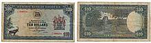 Paper money - Rhodesia 10 Dollars 1976