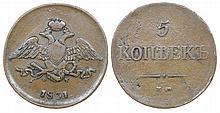 Russia - 5 Kopeks 1831