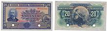 Paper money - Mozambique 20$00 1937, SPECIMEN